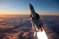 Старт Бурана с самолета