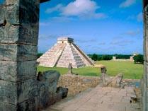 город майя на Юкатане Чичен-Ица