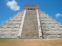 Древний город майя на Юкатане Чичен-Ица 02