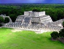 Древний город майя на Юкатане Чичен-Ица 03