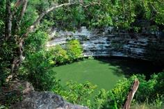 Древний город майя на Юкатане Чичен-Ица 04