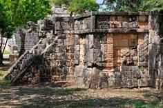 Древний город майя на Юкатане Чичен-Ица 11