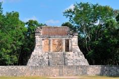 Древний город майя на Юкатане Чичен-Ица 12