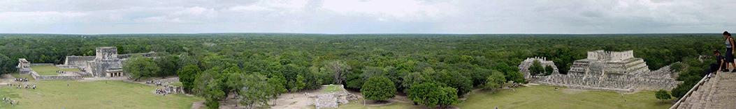 Древний город майя на Юкатане Чичен-Ица 14
