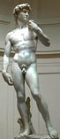 Статуя Давида мастера Микеланджело