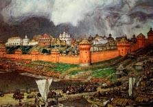 Московский Кремль в XIV веке