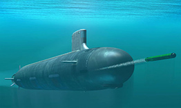 Торпедная атака подводной лодка