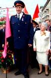 Самый высокий человек украинец Леонид Стадник