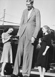 Самый высокий человек 30-х годов - Роберт Першинг УОДЛОУ