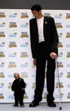 Самый высокий человек - турок Султан Козен