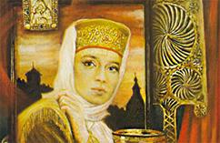 Елена Глинская вторая жена Василия III Ивановича, мать Ивана Грозного