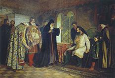 Новгородские послы у князя Дмитрия Михайловича Пожарского