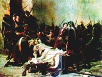 Картина освобождение Иоанна 6 Мировичем