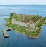 Шлиссельбургская крепость вид сверху