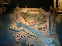 Шлиссельбургская крепость макет