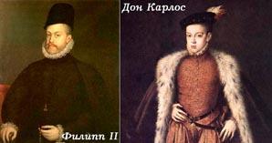 Филипп II и Дон Карлос