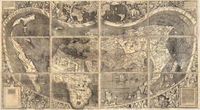 Карта монаха Мартина Вальдзеемюллера