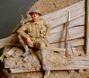 Английский солдат времен первой мировой войны