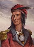 Вождь племени шауни Текумсе