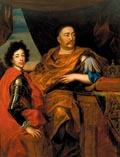 Польский король Ян Собенский с сыном