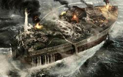 Коллаж на современный ковчег Ноя