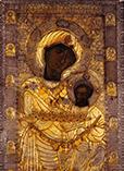 Самая знаменитая Иверская икона Божьей Матери (Вратарница)