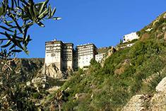Пантелемонов монастырь на горе Афон
