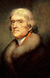 3-й Президент США Томас Джефферсон 01