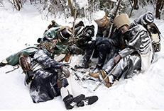 Великая армия Наполеона погибает на просторах России